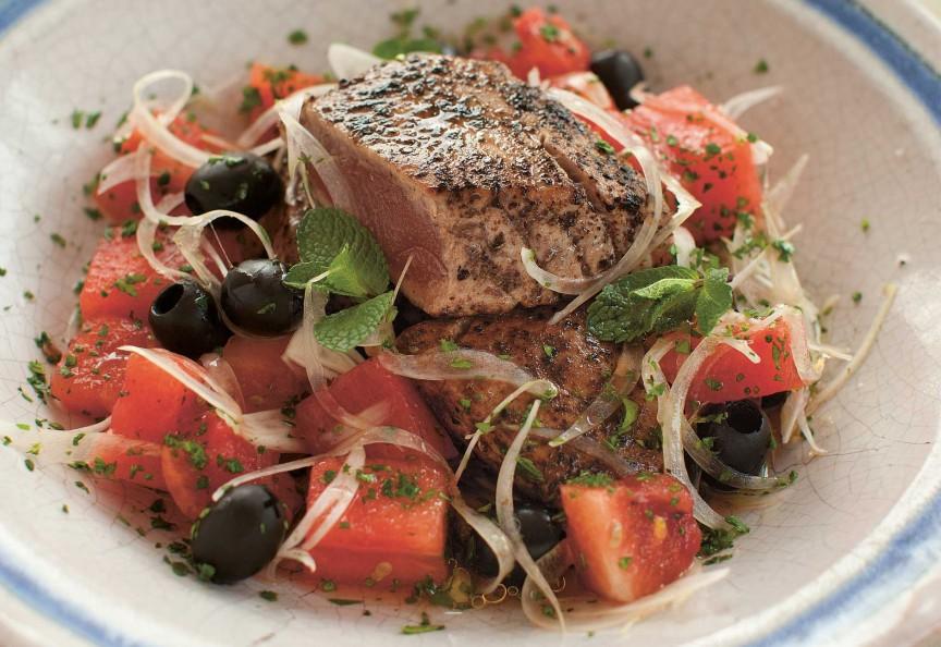 Libanesiche-Küche Thunfisch Salat