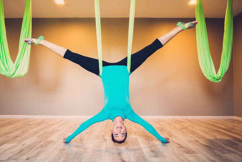 Anti Gravity Yoga - Akrobaten in Aktion!