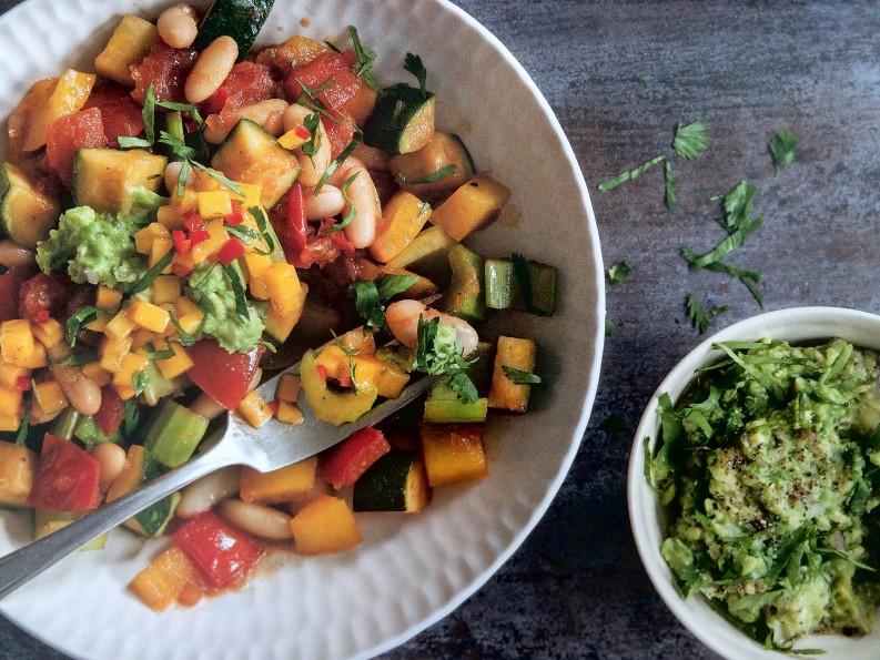 Vegane Gemüsepfanne Rezept