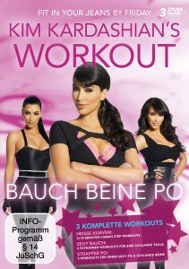 kim kardashian workout cover